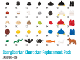 Set No: 5003226  Name: StoryStarter Character Replacement Pack (35 element version)