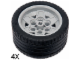 Set No: 5003244  Name: EV3 Tire Parts Pack