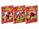 Set No: 5003801  Name: Mixels Red Collection
