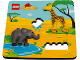 Set No: 5004401  Name: Wildlife Puzzle polybag