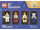 Set No: 5004573  Name: Minifigure Collection, Athletes (TRU Exclusive)