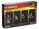 Set No: 5005257  Name: Minifigure Collection, Bricktober 2018 3/4 (TRU Exclusive) - Ninjago