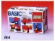 Set No: 504  Name: Basic Building Set
