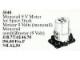 Set No: 5040  Name: Monorail 9V Motor