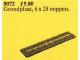 Set No: 5072  Name: Wagonplate, 6 x 28 Studs