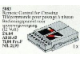 Set No: 5083  Name: Remote Control for Crossing