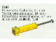 Set No: 5105  Name: Pneumatic Cylinder, 64mm, Yellow