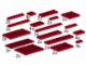 Set No: 5147  Name: Plates, Red