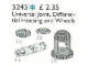 Set No: 5245  Name: Differential Housing