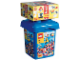 Set No: 5370a  Name: Large Make and Create Bucket with Special LEGO Bonus Bricks (Bucket and its contents only)