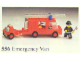 Set No: 556  Name: Emergency Van (Fire)