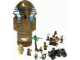 Set No: 5909  Name: Treasure Raiders set with Mummy Storage Container