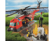 Set No: 60010  Name: Fire Helicopter (Red Stripe on Side Version)
