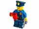 Set No: 60063  Name: Advent Calendar 2014, City (Day 18) - Policeman with Cup and Handcuffs