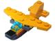 Set No: 60155  Name: Advent Calendar 2017, City (Day 10) - Airplane Toy
