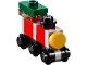 Set No: 60155  Name: Advent Calendar 2017, City (Day  1) - Red Toy Train Engine