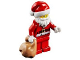 Set No: 60201  Name: Advent Calendar 2018, City (Day 24) - Santa with Gift Bag