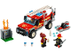 Set No: 60231  Name: Fire Chief Response Truck
