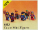 Set No: 6103  Name: Castle Mini Figures