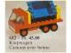 Set No: 612  Name: Tipper Truck