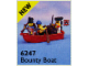 Set No: 6247  Name: Bounty Boat