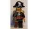 Set No: 6299  Name: Advent Calendar 2009, Pirates (Day  1) - Captain Brickbeard