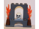 Set No: 6299  Name: Advent Calendar 2009, Pirates (Day 23) - Brick Arch with Fire and Skull