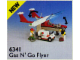 Set No: 6341  Name: Gas N' Go Flyer
