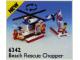 Set No: 6342  Name: Beach Rescue Chopper