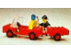 Set No: 640  Name: Fire Truck and Trailer