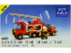 Set No: 6480  Name: Hook and Ladder Truck