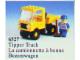 Set No: 6527  Name: Tipper Truck