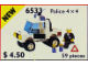 Set No: 6533  Name: Police 4x4