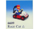 Set No: 6609  Name: Race Car