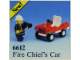 Set No: 6612  Name: Fire Chief's Car