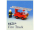 Set No: 6621  Name: Fire Truck
