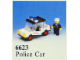Set No: 6623  Name: Police Car