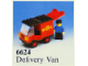 Set No: 6624  Name: Delivery Van