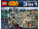 Set No: 66479  Name: Star Wars Super Pack 3 in 1 (75015, 75035, 75043)