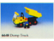 Set No: 6648  Name: Dump Truck
