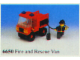 Set No: 6650  Name: Fire and Rescue Van