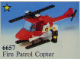 Set No: 6657  Name: Fire Patrol Copter