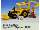 Set No: 6662  Name: Backhoe