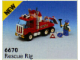 Set No: 6670  Name: Rescue Rig