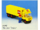 Set No: 6692  Name: Tractor Trailer