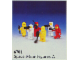Set No: 6701  Name: Minifigure Pack