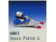 Set No: 6803  Name: Space Patrol