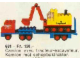 Set No: 681  Name: Low-Loader with 4 Wheel Excavator