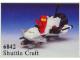 Set No: 6842  Name: Shuttle Craft