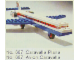 Set No: 687  Name: Caravelle Plane